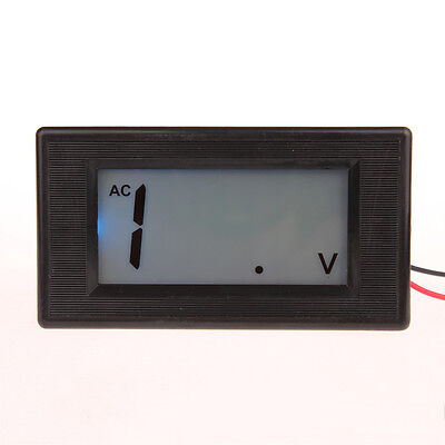 3 1/2 Blue LCD Digital Volt Panel Meter AC 0-200V Voltmeter 200V