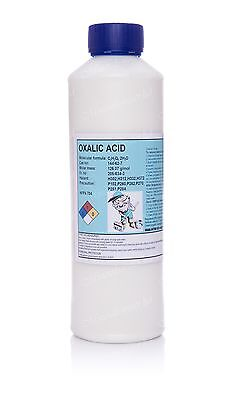 1kg Oxalic acid•Hull•Deck•GRP Cleaner & rust remover•