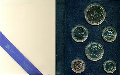 1982 CANADA RCM SPECIMEN SET AS ISSUED, GREAT PRICE!