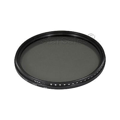 Vivitar 52mm Neutral Density Variable Fader NDX Filter ND2 to ND1000 VNDX-52