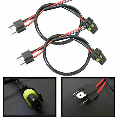 H4 9003 HB2 Wire Harness Power Cord For Ballast To Stock for HID Conversion Kit