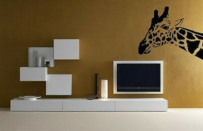 Vinilo Decorativo Para Pared Calidad Extra -Jirafa-