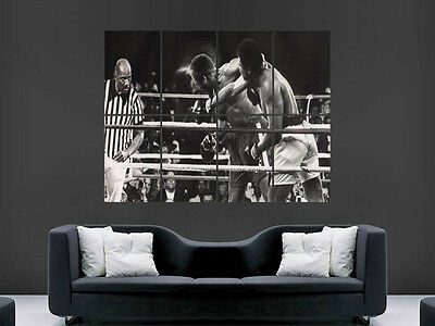 Muhammad Ali Boxing Poster Print Sport Legend Huge Large Wall Art Picture