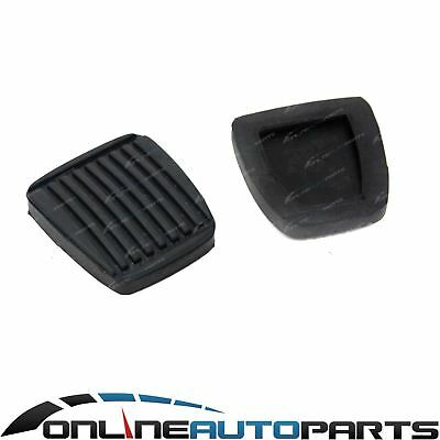 Pair Brake + Clutch Pedal Pad Rubber fit Toyota Landcruiser 70 80 100 105 Series