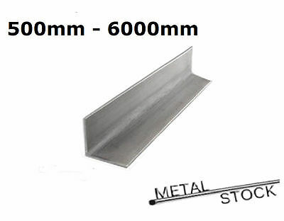 Stainless Steel Angle. 20mm x 20mm x 3mm. 304 Grade. Choose Length