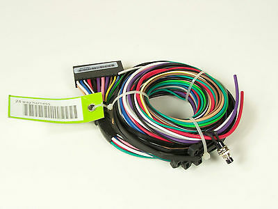 Ford  24 Way Wiring Harness H63DB ENG P/N 2W7J-19A205-AA Code Systems