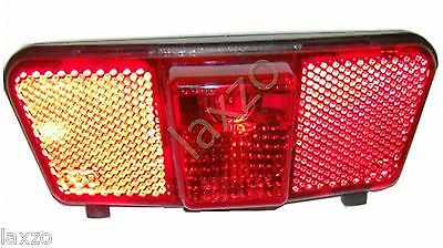 Bicycle Cycle  Rear Carrier Tail Light For Dynamo Use Mountain Bike