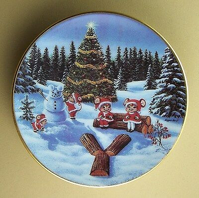A Merry Little Christmas Mini Plate Y IS FOR YULE LOGS #3 Third Higgins Bond