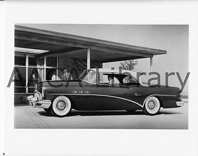 Factory Photo 1955 Buick Model 66R Century 2-door Riviera Ref. # 28482