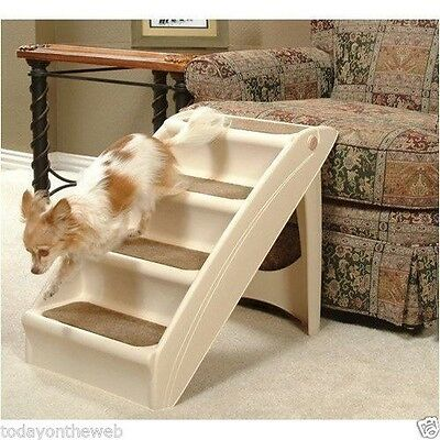 Pet Stairs Solvit Pup Step Plus Small Dog Cat Steps New