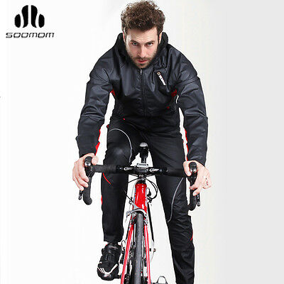 AU STOCK Sobike Cycling Long Sleeve Winter Jersey Wind Coat Thermal Jacket