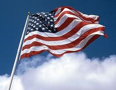 6'x10' US PolyExtra American polyester Outdoor poly Flag MADE IN USA