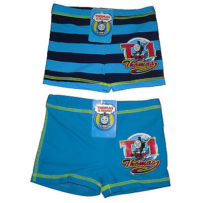 Baby Boys Swim Shorts/trunks Thomas The Tank Engine 1-2 Years Old Bnwt