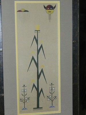 Native American Painting by Unsigned Artist