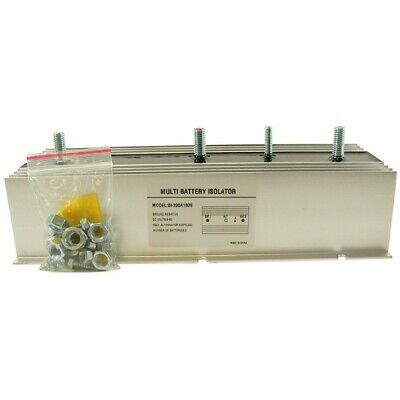 NEW MULTI 2 BATTERY ISOLATOR 200 AMP with Exciter EMS, MARINE, STEREO BSL0013
