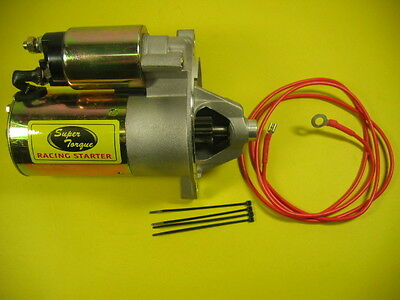 New Starter Ford Mini PMGR Racing 302 351 Higher Torque SFD0001 -
