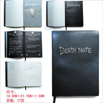 Death Note Agenda Notebook Quaderno Elle Ryuk Misa L Cosplay Anime Manga #1
