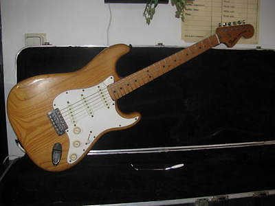 FENDER STRATOCASTER 1972/74 Usa made Vintage Natural