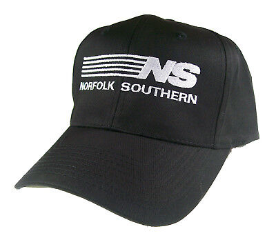 Norfolk Southern Railroad Embroidered Cap Hat #40-0032