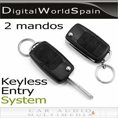 Keyless Entry System With 2 Controllers.choose Your Car Logo.delivery To Europe
