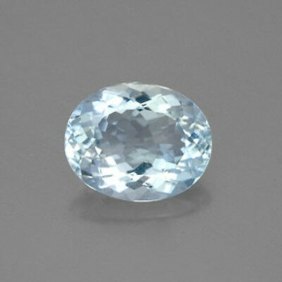 Masterpiece Collection: Oval Genuine (Natural) Aquamarine (5x3-8x6mm)