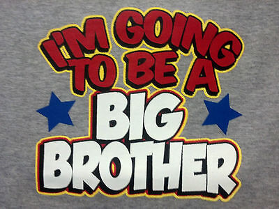 Going 2 Be Big Brother! Kids Cute Sweet T-Shirt Infant Baby Toddler Youth Tee