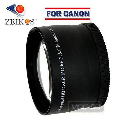 2.5X Telephoto 58MM FOR CANON EF 75-300MM USM LENS