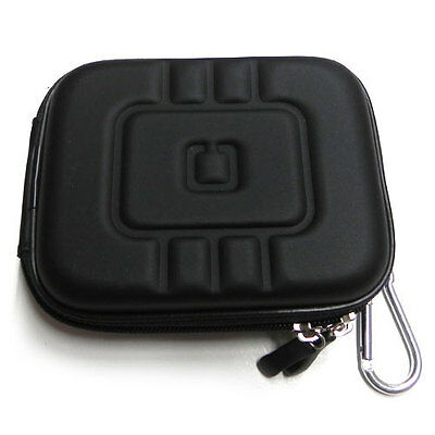 Black Hard Pouch Carrying Case Cover for Nikon Coolpix L22 S70 S80 S3000 S4000