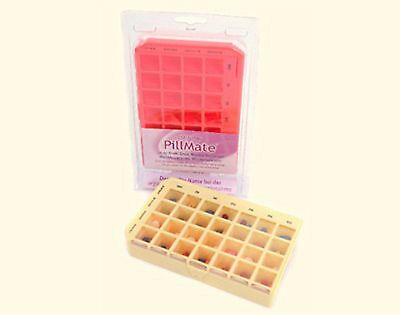 PillMate Multi Dose Weekly Pill Box - 28 Compartment (7 Days X 4 Times a Day)