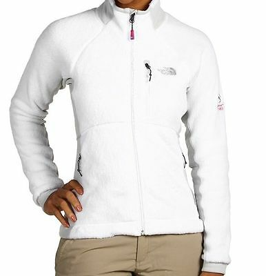 da5182e93 THE NORTH FACE Womens Scythe Jacket winter soft fleece coat White NEW