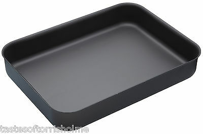 Master Class Professional Non Stick Hard Anodised 42cm Large Roasting Tray Pan