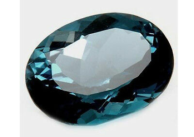 Masterpiece Collection: Oval Genuine (Natural) London Blue Topaz (6x4-12x10mm)