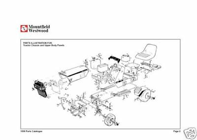 westwood s t ride on lawn tractor parts list manuals 84 90 5 19 rh picclick com Murray Riding Mower Repair Guide westwood t1200 lawn tractor manual