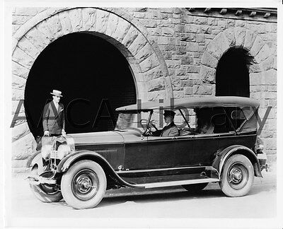 1926 Lincoln Touring Car, Factory Photo (Ref. #53128)