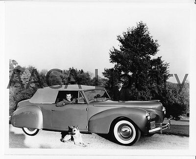 1940 Lincoln Continental Convertible Coupe, Factory Photo (Ref. #53286)