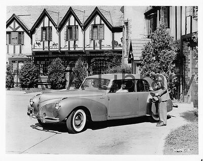 1941 Lincoln Continental Coupe, Factory Photo (Ref. #53304)