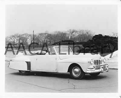 1946 Lincoln Continental Convertible Coupe, Factory Photo (Ref. #53370)