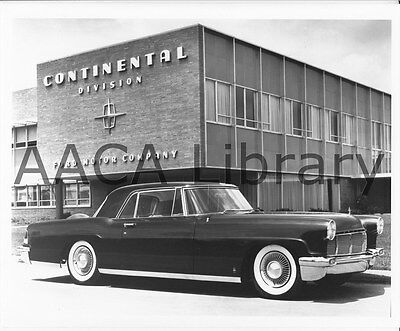 1956 Lincoln Continental Mark II Two Door Hardtop, Factory Photo (Ref. #53703)