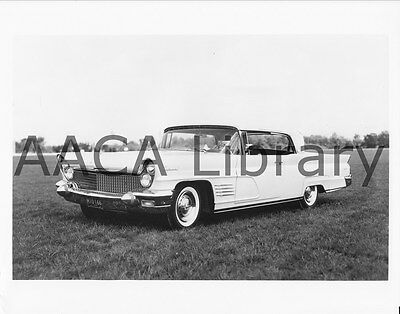 1960 Lincoln Continental Two Door Hardtop, Factory Photo (Ref. #53821)