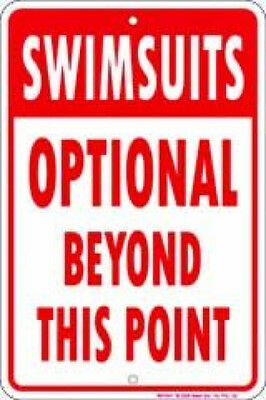 Swimsuits Optional Aluminium Tin Metal Sign SPS43  2 - 12 Post Flat Rate $15