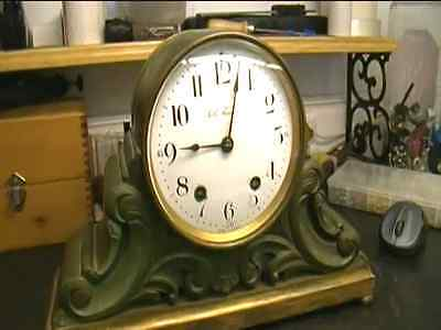 Clock Repair DVD Video - Repairing the Seth Thomas 48 R Mantel Clock