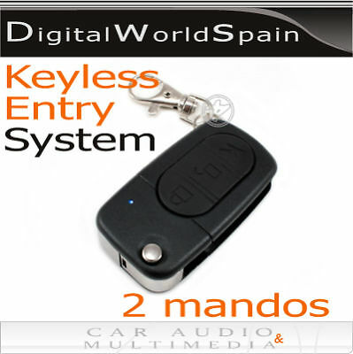 Universal Keyless Entry System Car Door Lock Kit 2 Remotes.delivery To Europe