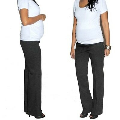 Maternity Pregnancy Work Formal Trousers Office Pants size UK 8 10 12 14 16 18