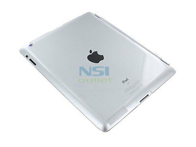 Clear Frosted Crystal Hard Back Case Skin Cover Protector for Apple iPad 2 3 Gen