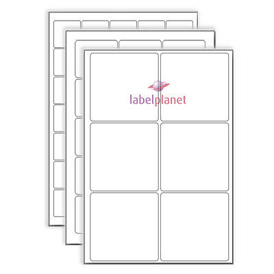 A4 Sheet Square Labels -  White Blank Matt Page Stickers Sheets Label Planet®