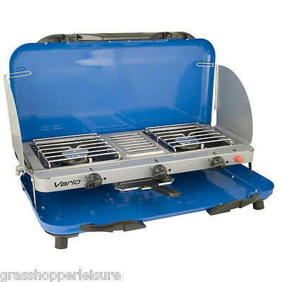CAMPINGAZ CAMPING CHEF VARIO GRILL & STOVE portable cooker coleman 200009653