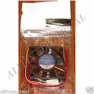 40mm Computer Equipment, Power Supply Cooling Fan - Part # FAN4010C12M-II