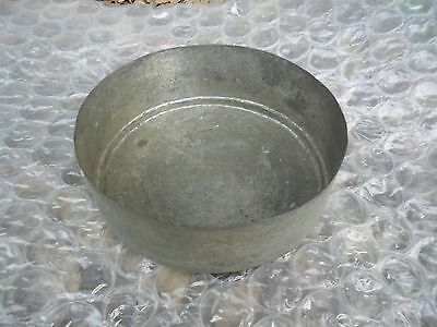 Vintage Authentic Antique Small Pot Casserole Engraved Hand-Made Mid-East Copper