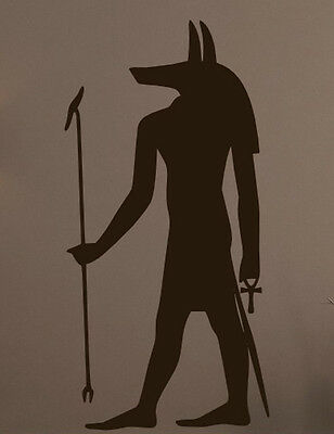 Mysterious Ancient Egyptian God vinyl wall stickers removable high quality NEW
