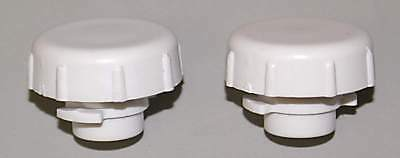 Bunn CDS Faucet Caps - BRAND NEW FACTORY PARTS - Set of Two, White 26793.0000  s